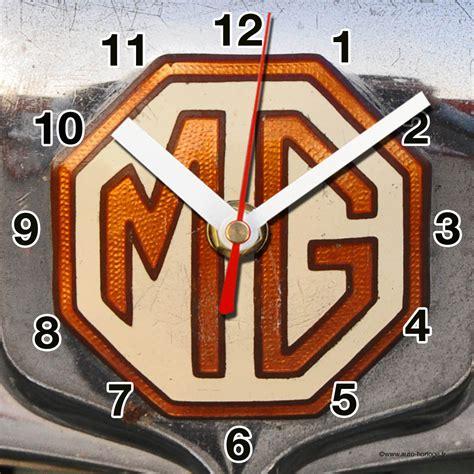 Auto Logo Mg by Logo Mg 05 En Horloge Murale