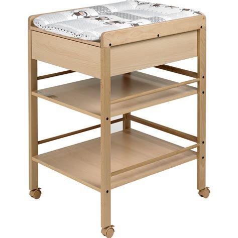 table 224 langer avec tiroir avant naturelle lotta de