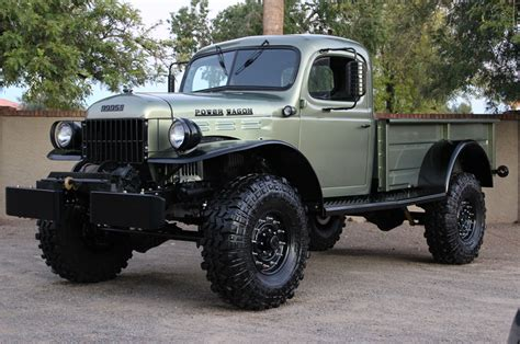 old dodge truck 4x4 gallery just listed two very different flavors of vintage dodge