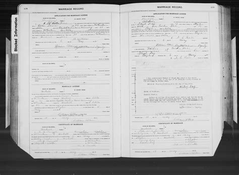 Oklahoma County Records Marriage File Oklahoma County Marriages 1890 1995 004532821 Page 569 Of 649 Jpg Coxgenealogy
