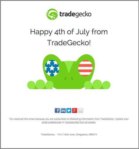 4th Of July Email Templates To Fuel Independence Day Sales Happy 4th Of July Email Template