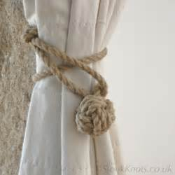 Where To Put Curtain Holdbacks Stonk Knots Design In Stair Ropes Towel Rails