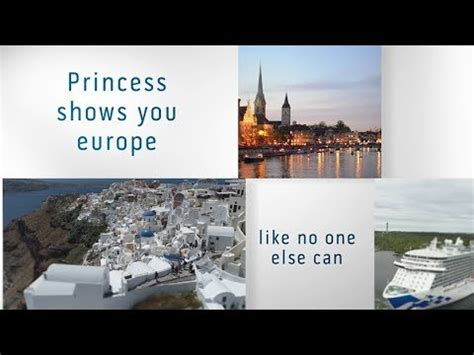 cruise europe in 2019 with princess cruises – cruise2click