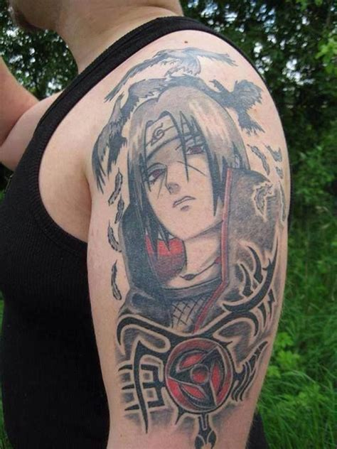 itachi tattoo design itachi