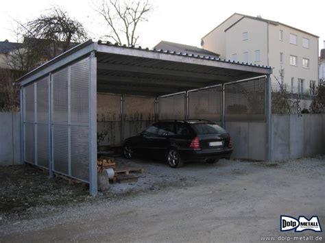 sichtschutz carport sichtschutz garten terasse carport stahl 0101 4 dolp