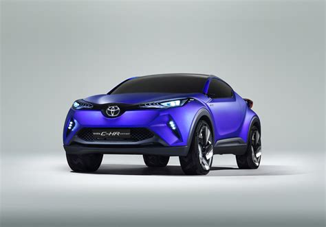 future toyota this is toyota s c hr sporty compact crossover concept