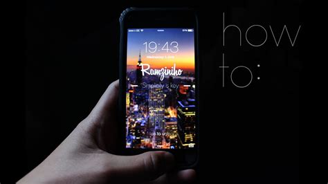 tutorial video iphone 6 how to create a custom iphone wallpaper tutorial youtube