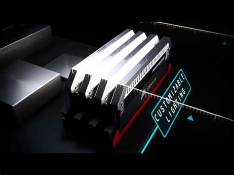 ddr4 ram with led lights 16gb 4gbx4 corsair dominator platinum bei