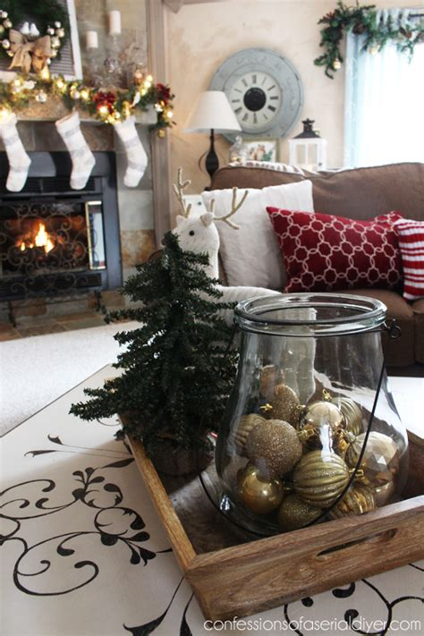 decorating coffee table for christmas ponterest home tour 2014 confessions of a serial do it yourselfer