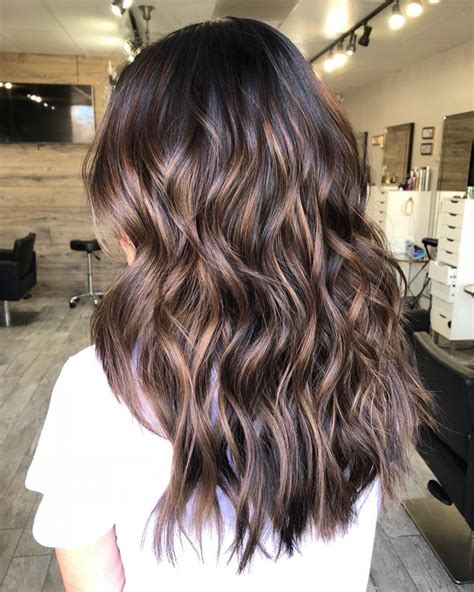 lowlights     inspire   hair color