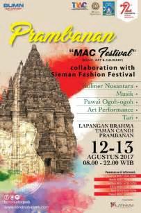 prambanan festival   art culinary taman