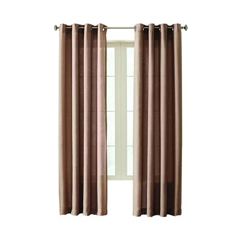 curtains at home depot home decorators collection semi opaque mocha hudson