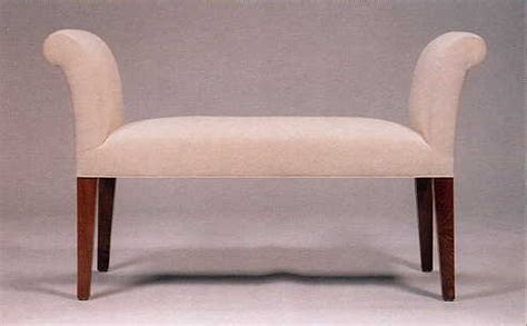 small sofa bench style upholstered bench in