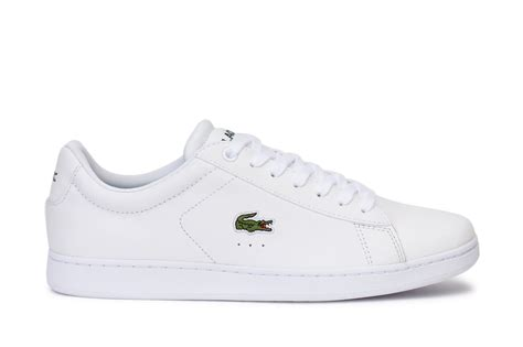lacoste sneakers mens lacoste s casual sneakers carnaby evo lcr spm white ebay