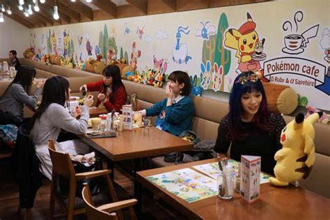 themes line japan pokemon theme restaurant in tokyo pompompurin sanrio cafe