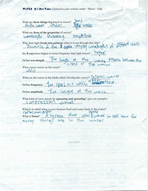 Bill Nye Climate Worksheet by Bill Nye Climate Worksheet Worksheets