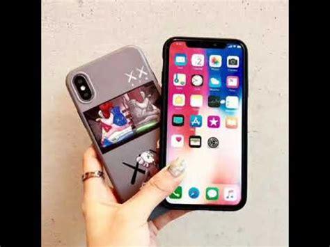kaws xx efl iphone x xs 7 8 6s 6 plus cases xr xs max