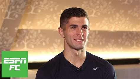 christian pulisic espn exclusive christian pulisic interview on u s soccer