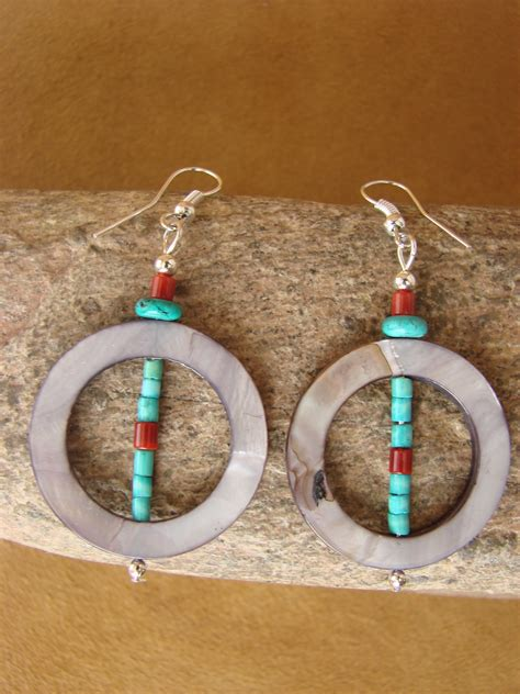 American Handmade Jewelry - navajo indian jewelry handmade earrings american