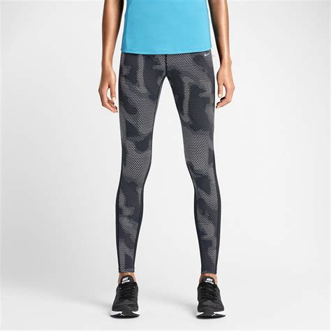 womens patterned running leggings nike epic lux printed women s running tights with sleek