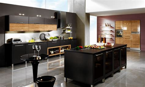 cool kitchen dark beauty moody shades such as black and charcoal look