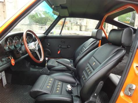 old porsche interior our seats in a porsche 964 classic car seats by gts