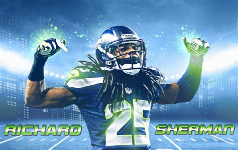 free wallpapers richard sherman seattle seahawks 2014