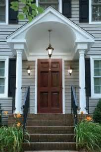 exterior door awning best 25 colonial front door ideas on portico