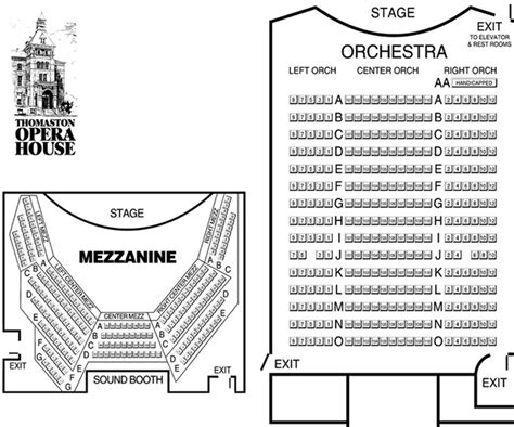 thomaston opera house landmark community theatre thomaston opera house gt about gt seating chart