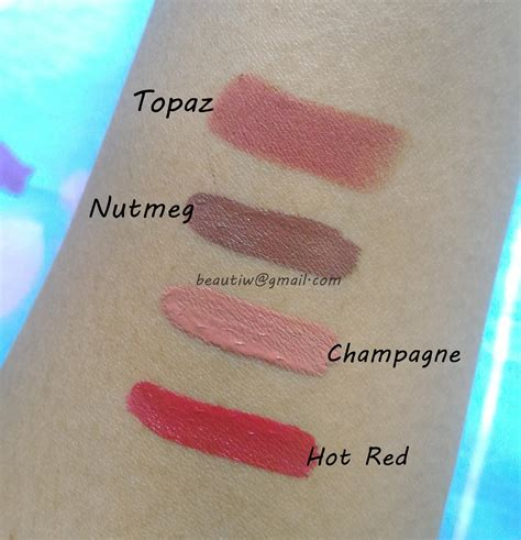 Lipstik Nabi Matte beautiw aspiring part ii p nabi matte lip gloss