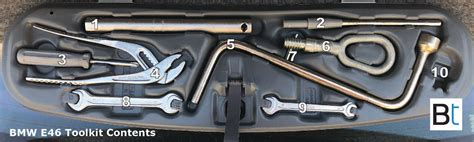 Bmw Part Number by Bmw E46 Toolkit Tools Part Numbers Bimmertips