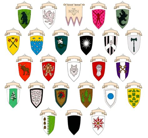 houses of the north clickable westeros the north quiz by jroccoj