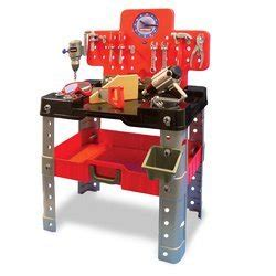 craftsman kids tool bench amazon com my first craftsman 68 piece workbench toys