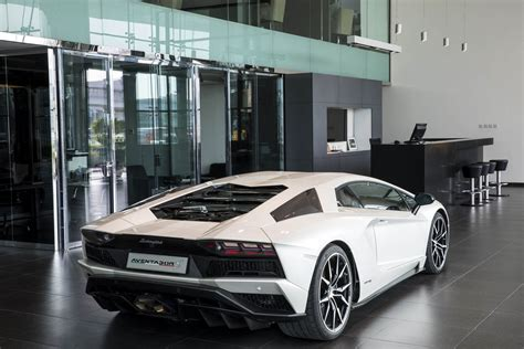 lamborghini showroom lamborghini just opened its largest showroom yet guess