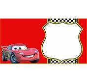 Lightning McQueen Invitation Template  Free Printable