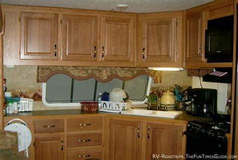 Motorhome Cupboards - equipping your rv kitchen tips for storage organization