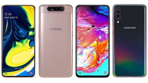 Samsung Galaxy A80 Eesti by Samsung A80 Vs Galaxy A70 Comparing The Samsung Smartphones Ndtv Gadgets360