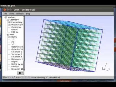 openfoam tutorial github making meshes for openfoam with gmsh part 2 extrusions