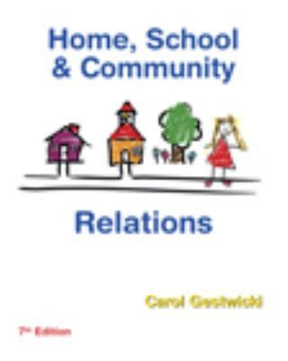 home school and community relations home school and community relations 7th edition rent