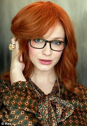 british actress with red curly hair flame haired christina hendricks looks stunning in new
