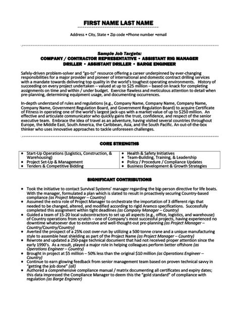 Resume Templates For General Contractor Independent Contractor Cover Letter