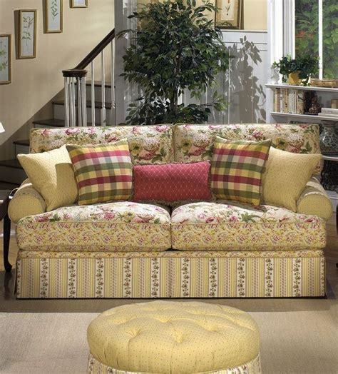 country cottage living room furniture cottage floral sofa i m getting so i just adore sofas