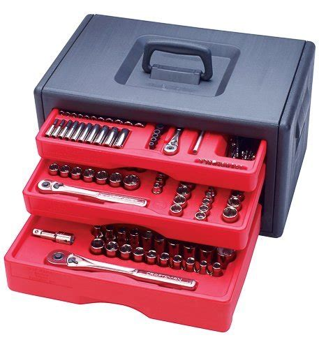 craftsman 3 drawer tool box plastic craftsman 245 piece tool set w 3 drawer storage chest