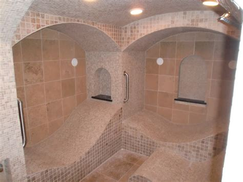 bathroom steam room bespoke steam room traditional bathroom st louis