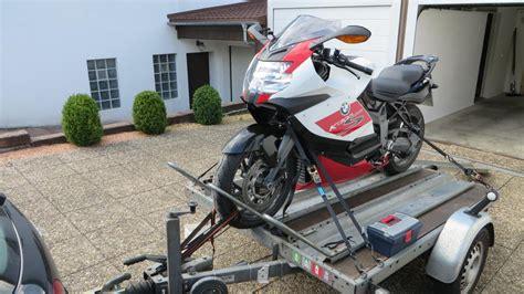 Motorrad Auf Pkw Anh Nger Transportieren by Bmw K Forum De K1200s De K1200rsport De K1200gt De