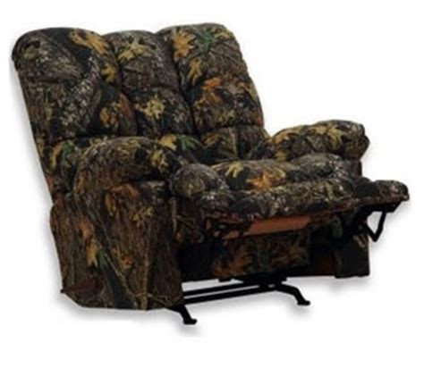 camouflage recliners for adults cloud nine mossy oak camouflage chaise rocker recliner by