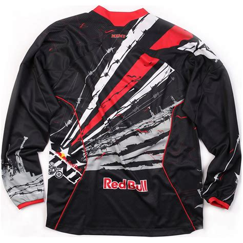 kini motocross kini red bull barbwire mx race shirt motocross jersey