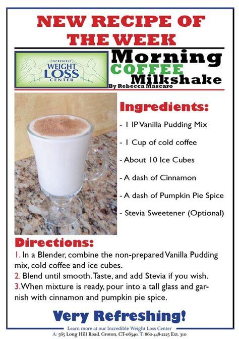 Ideal Protein Diet Detox by Morning Coffee Milkshake Ideal Protein