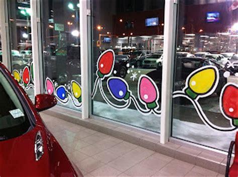 window painting for christmas laurel hawkswell edmonton artist edmonton gmail hilaurel western gmc has been