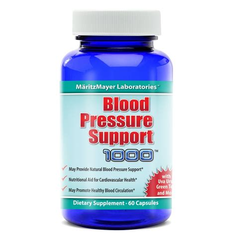 supplement blood pressure blood pressure support 1000 solution formulas vitamins
